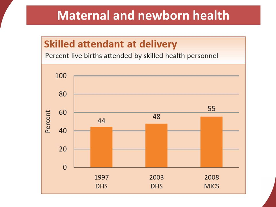 Maternal and newborn health