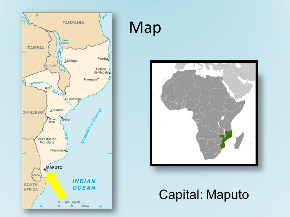 Map Capital: Maputo