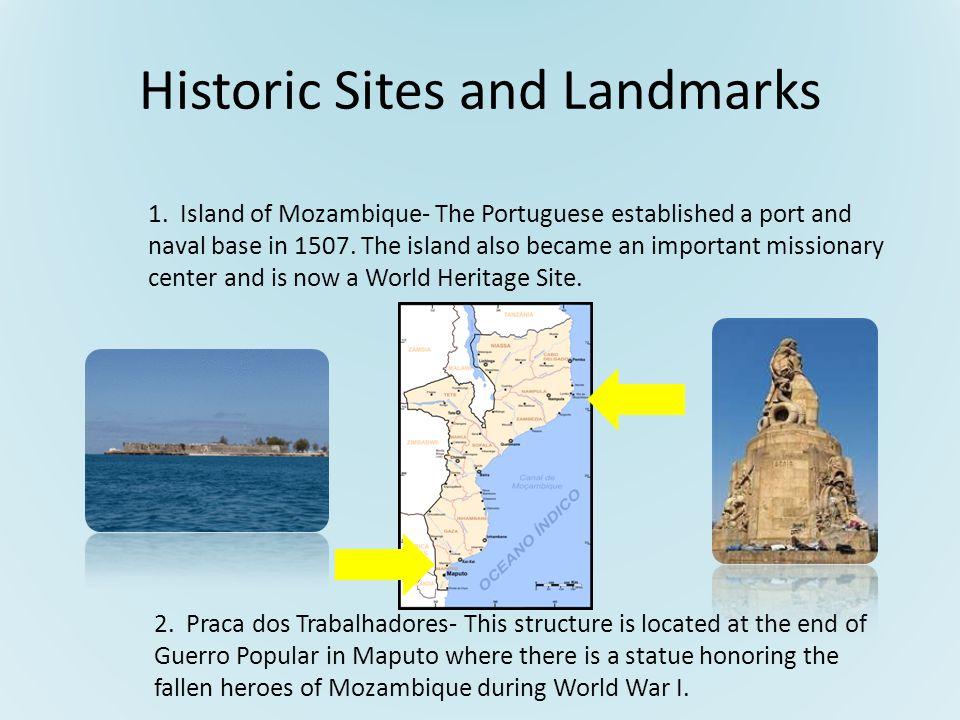 Historic Sites and Landmarks 1.