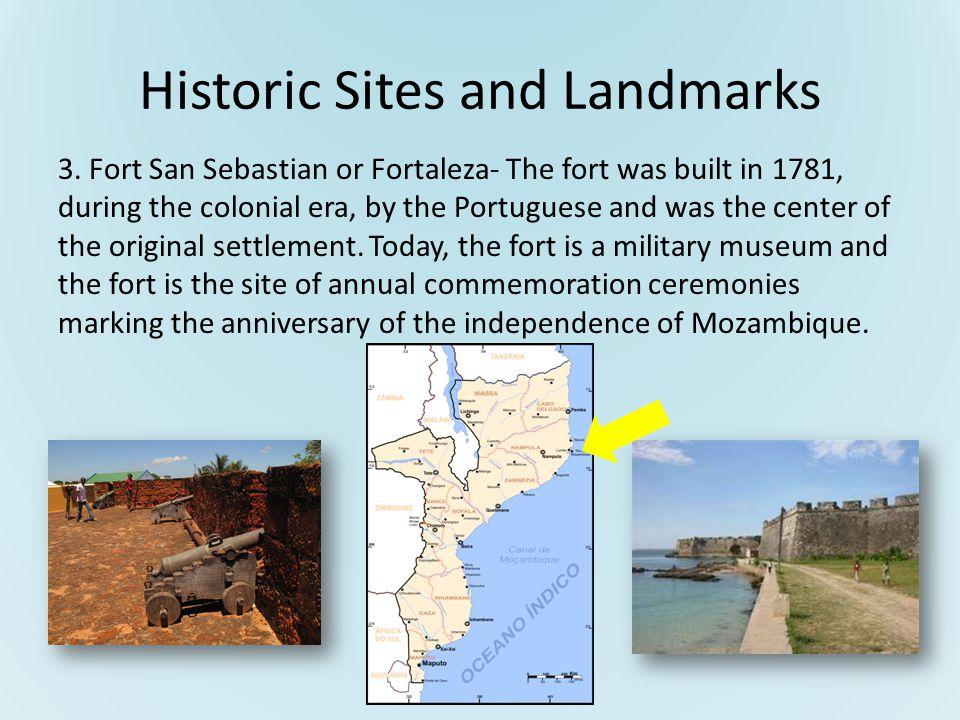 Historic Sites and Landmarks 3.