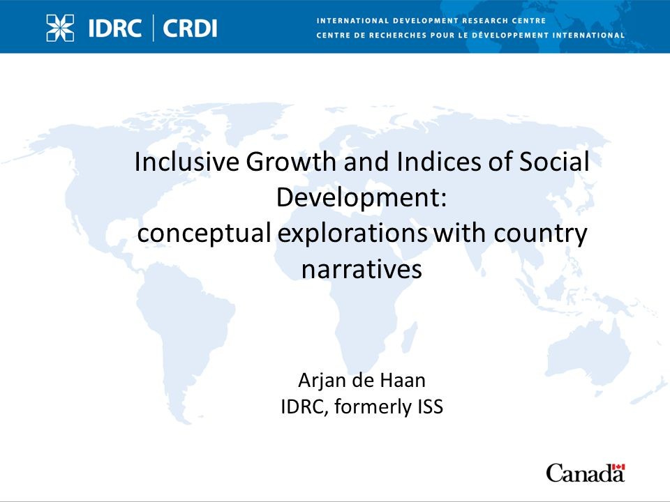 contents Background to this paper Concept inclusive growth – some genealogy GDP, inequality, HDI Inclusive growth as process – Production – Accountability, participation, governance 2