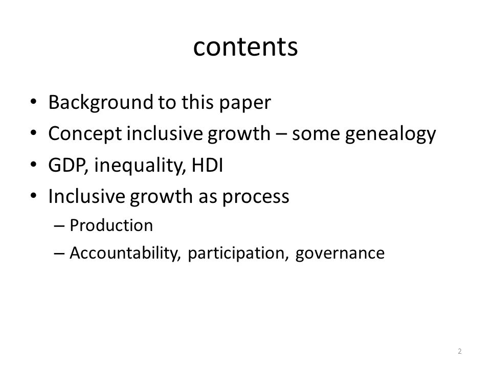 background IDRC program 'supporting inclusive growth' A fairly broad working definition growth that improves the access of the poor to expanding economic opportunities and reduces inequality While it's right to have broad working definition, we decided to review different country narratives And: how is the concept different from earlier ones.