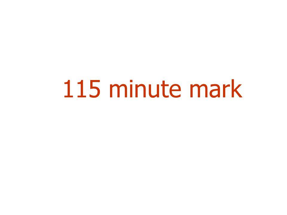 115 minute mark