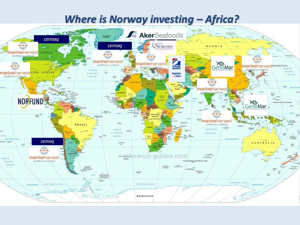 Where is Norway investing – Africa