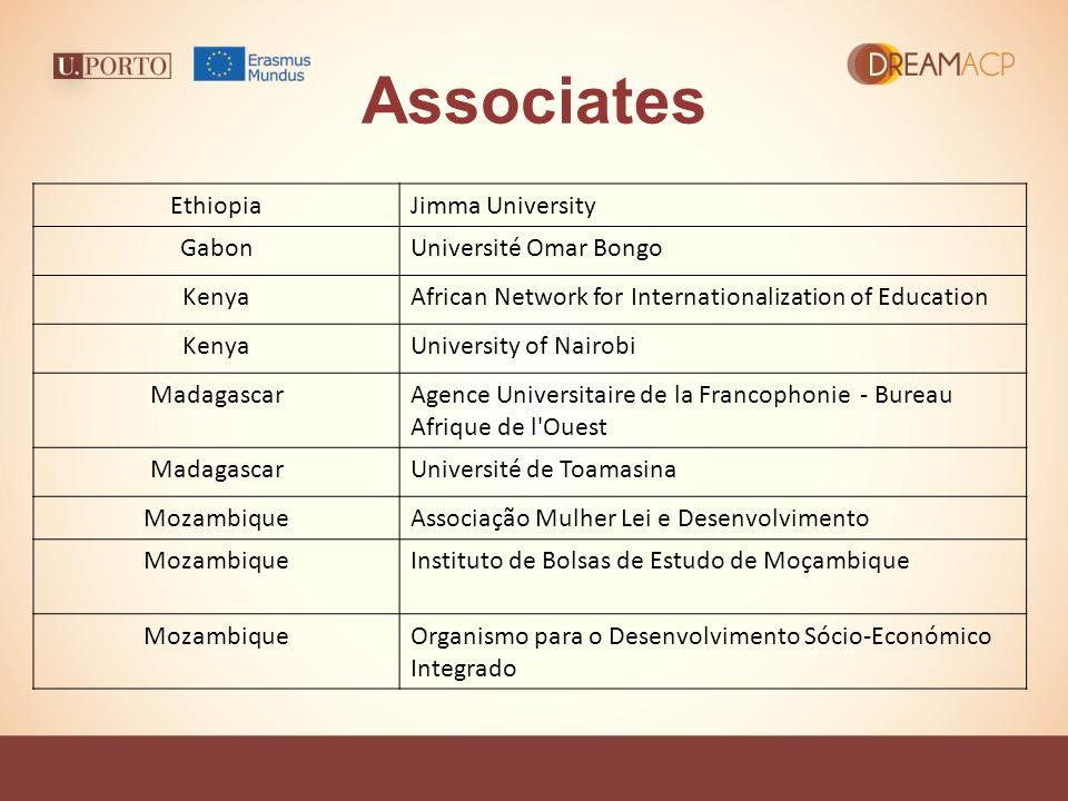 Associates EthiopiaJimma University GabonUniversité Omar Bongo KenyaAfrican Network for Internationalization of Education KenyaUniversity of Nairobi M