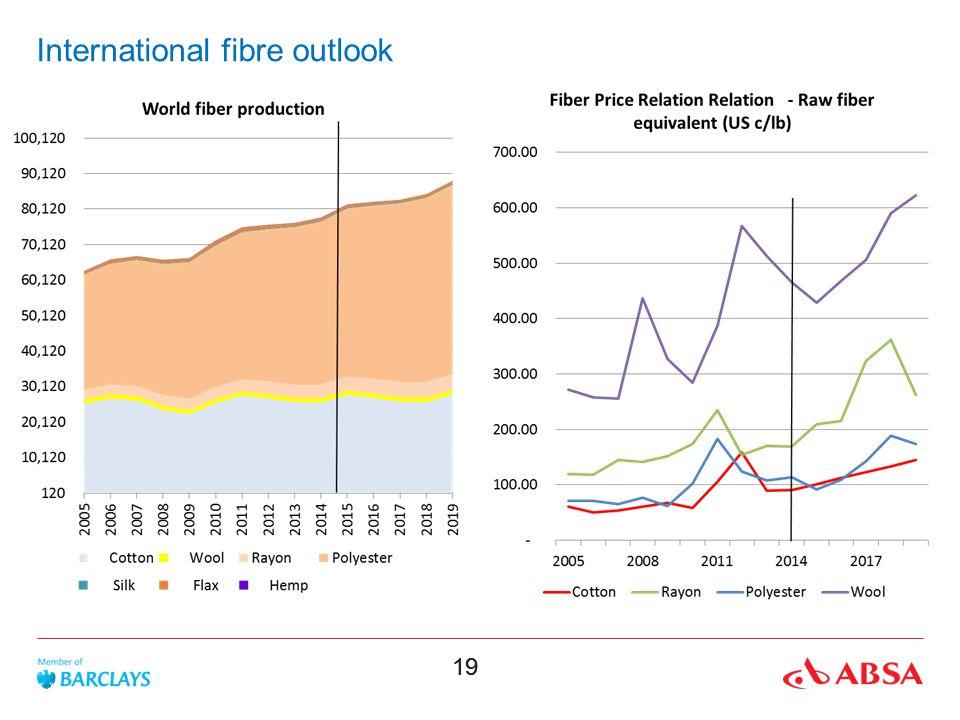 19 International fibre outlook