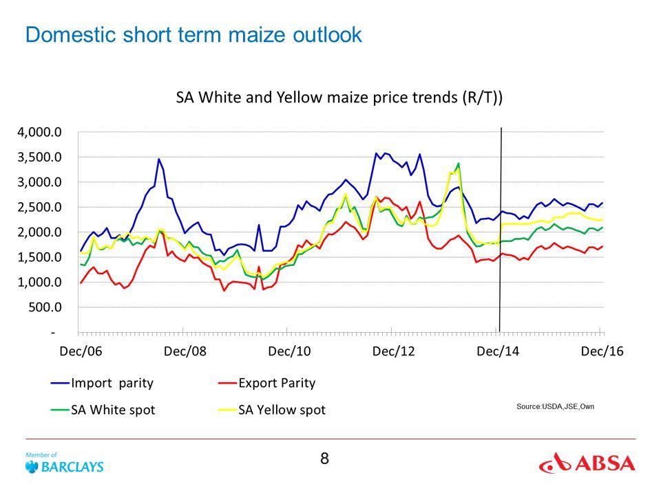 88 Domestic short term maize outlook