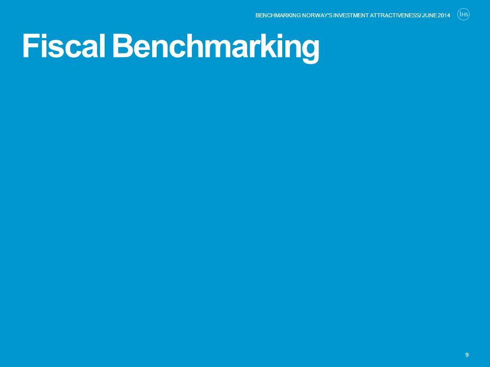 Fiscal Benchmarking 9 BENCHMARKING NORWAY'S INVESTMENT ATTRACTIVENESS/ JUNE 2014