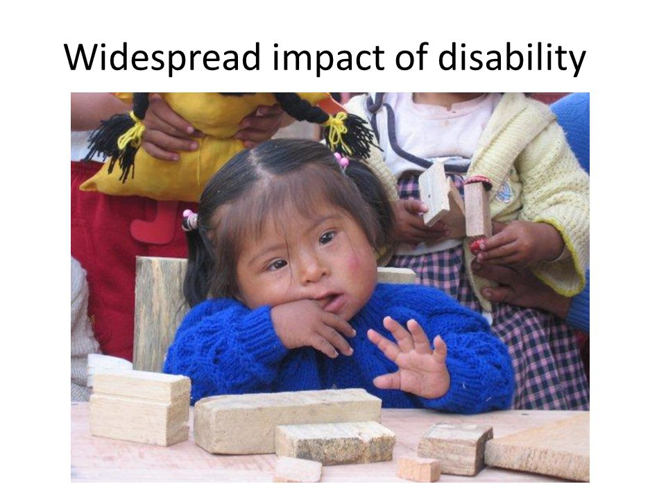 Widespread impact of disability
