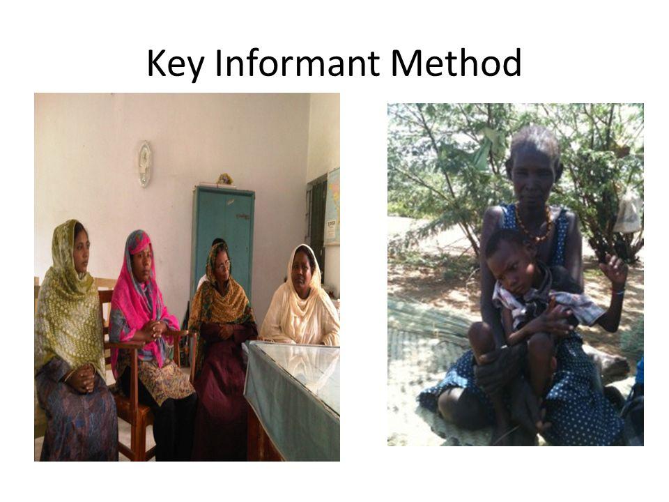 Key Informant Method