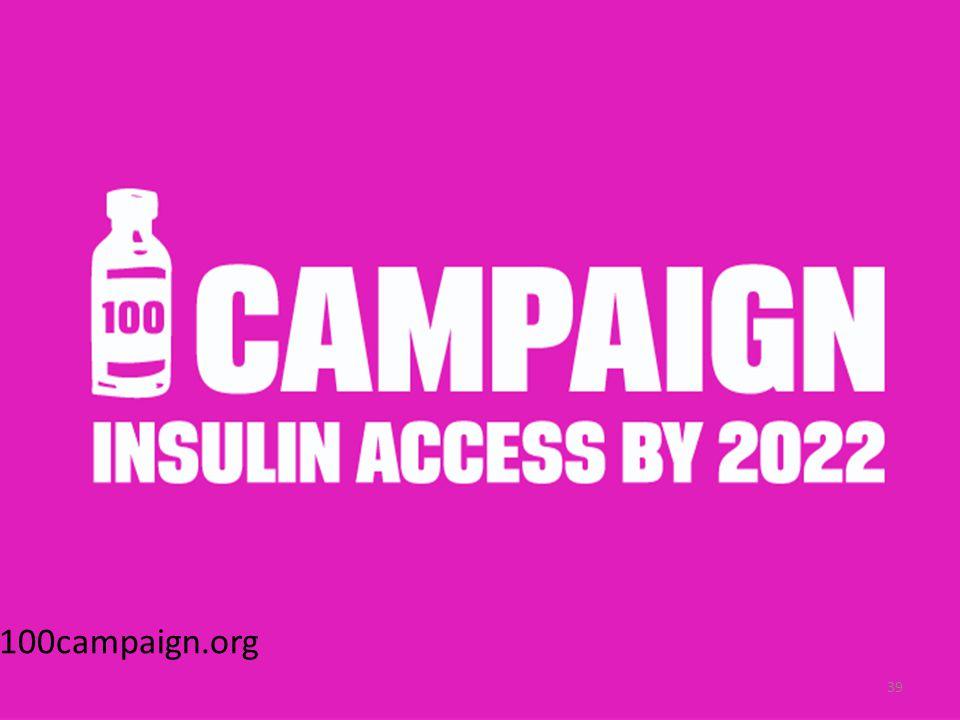 www.100campaign.org 39