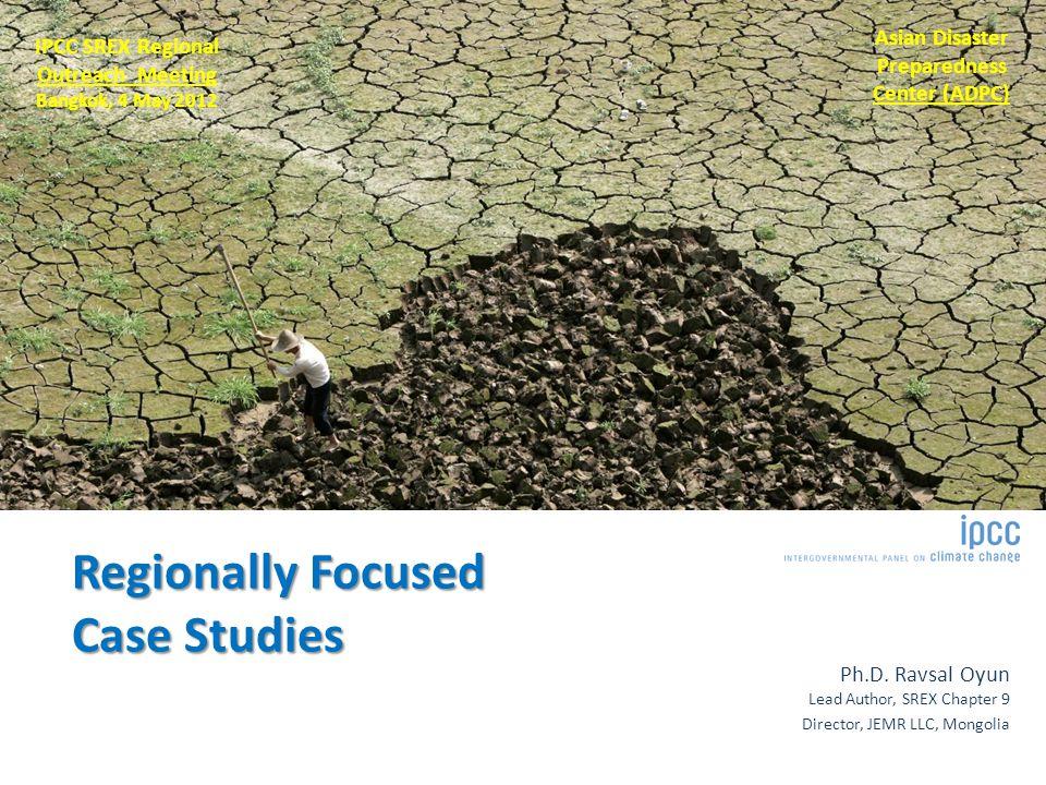 Regionally Focused Case Studies Ph.D.