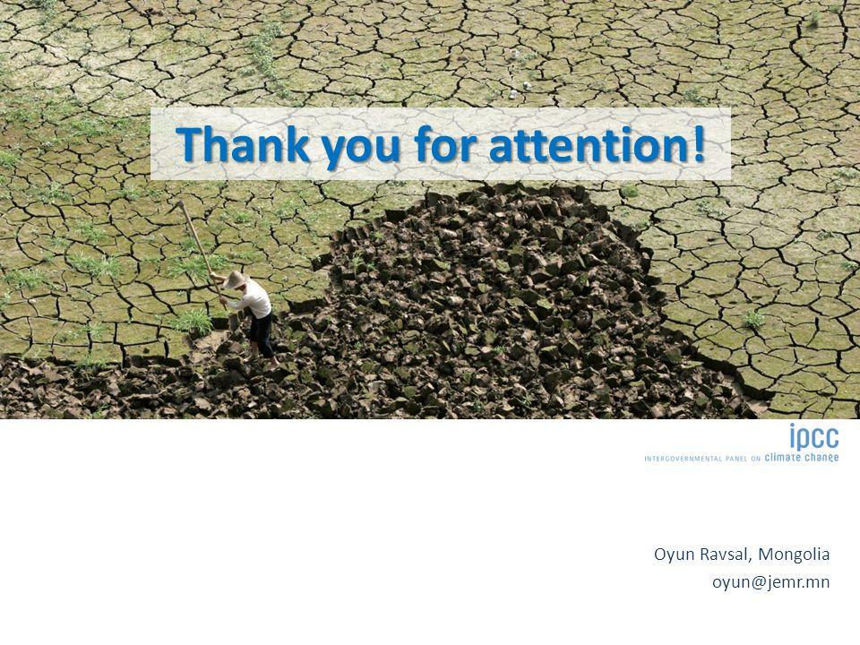 Oyun Ravsal, Mongolia oyun@jemr.mn Thank you for attention!