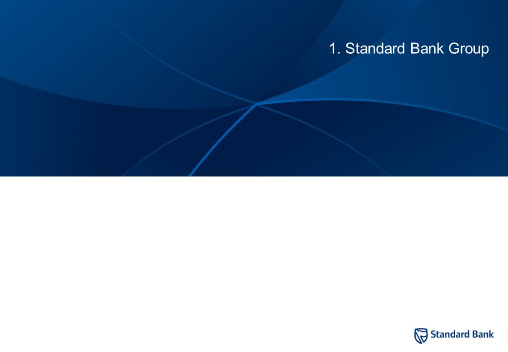 2 1. Standard Bank Group