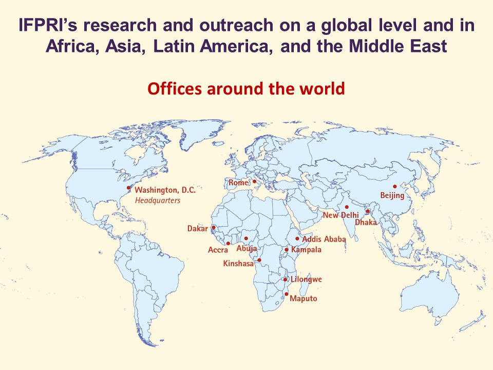 Offices around the world