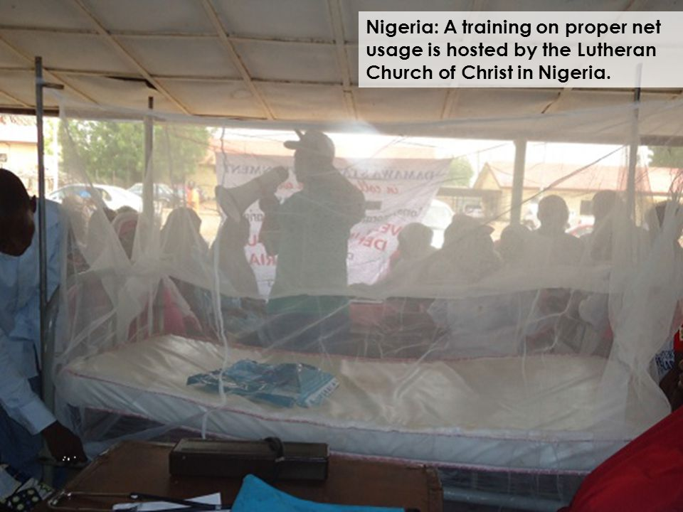 Nigeria: A training on proper net usage is hosted by the Lutheran Church of Christ in Nigeria.