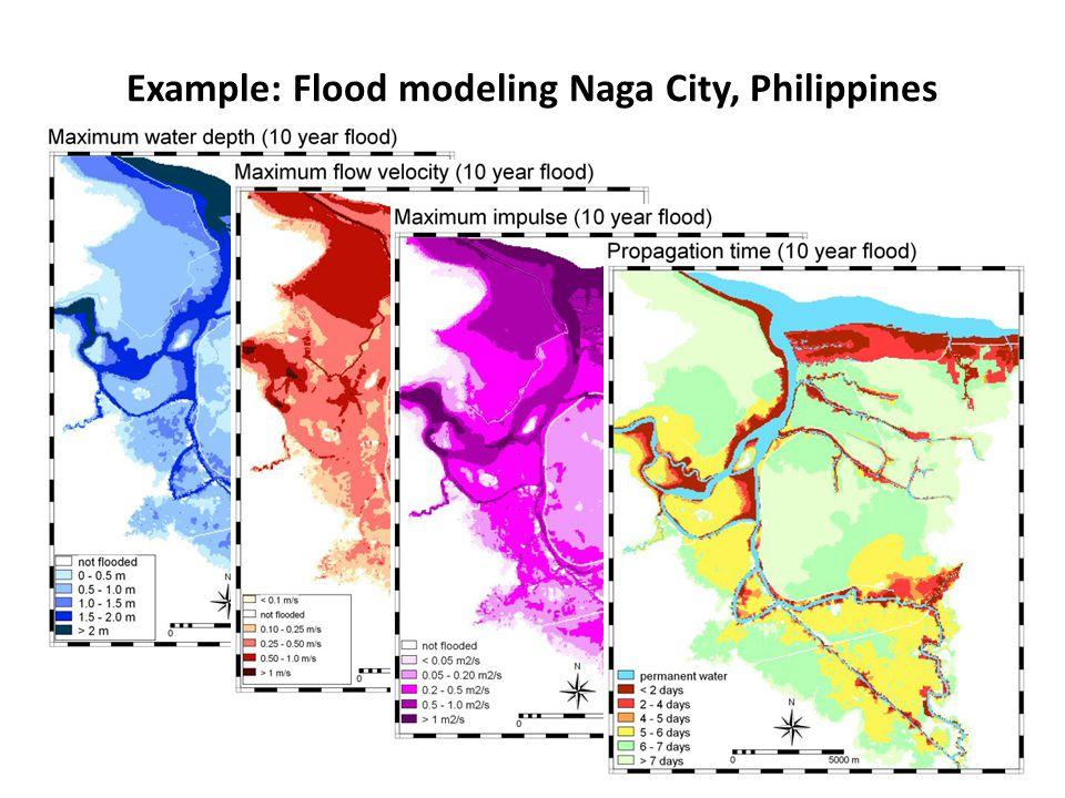 Example: Flood modeling Naga City, Philippines 17