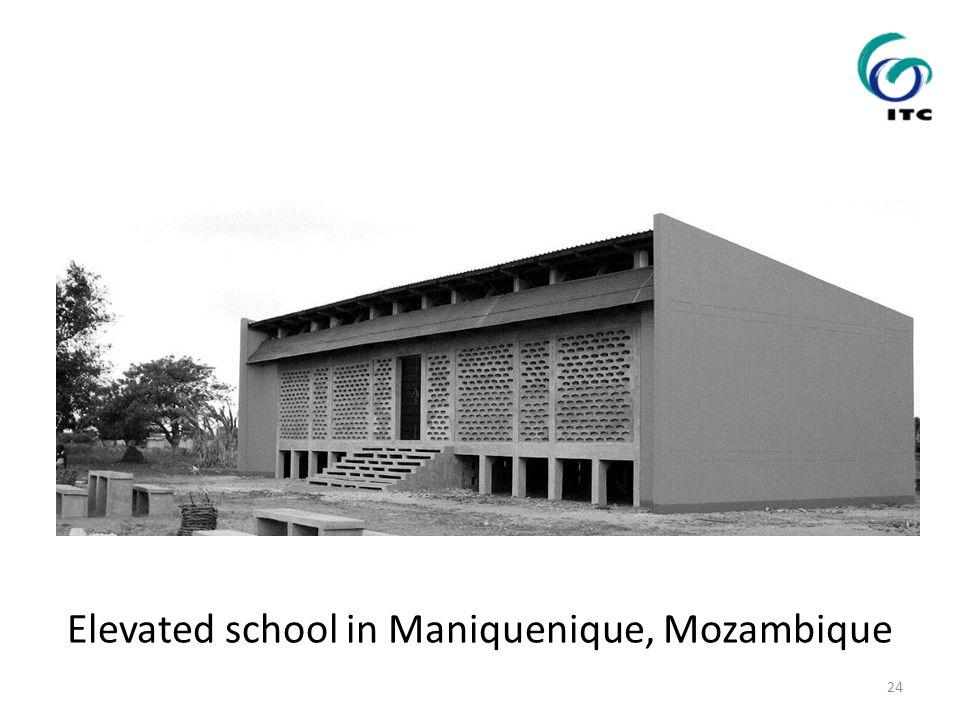 Elevated school in Maniquenique, Mozambique 24
