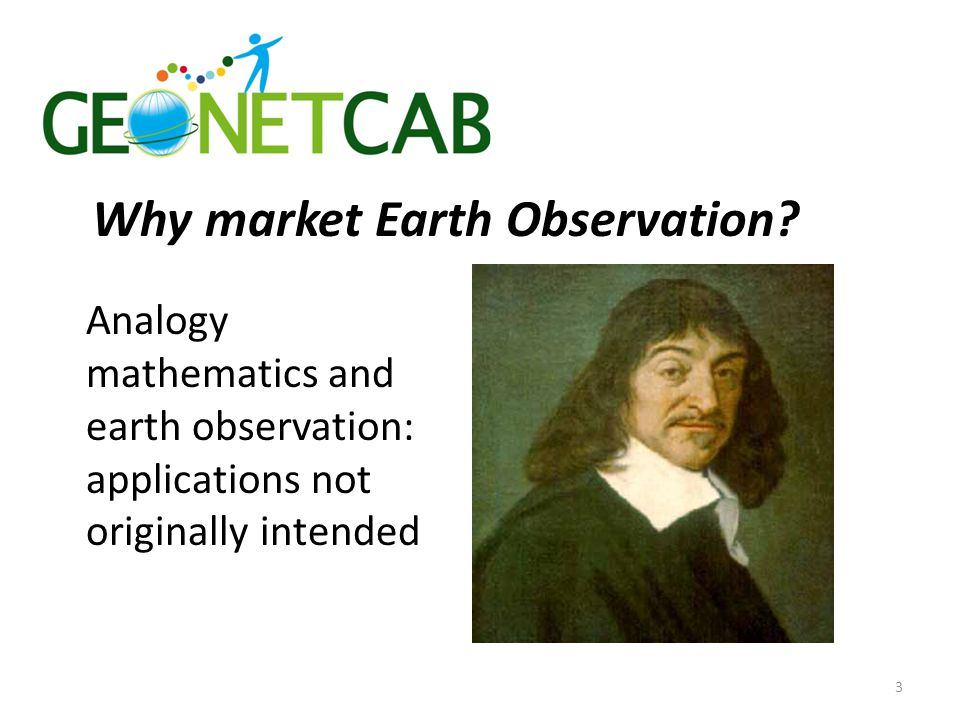 Why market Earth Observation.