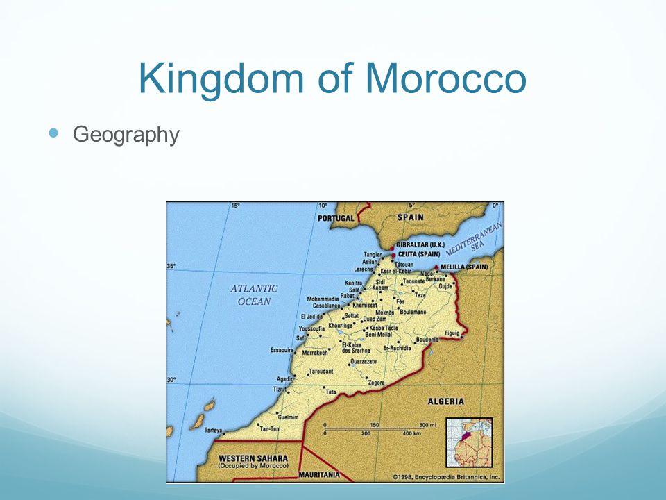 Kingdom of Morocco Geography