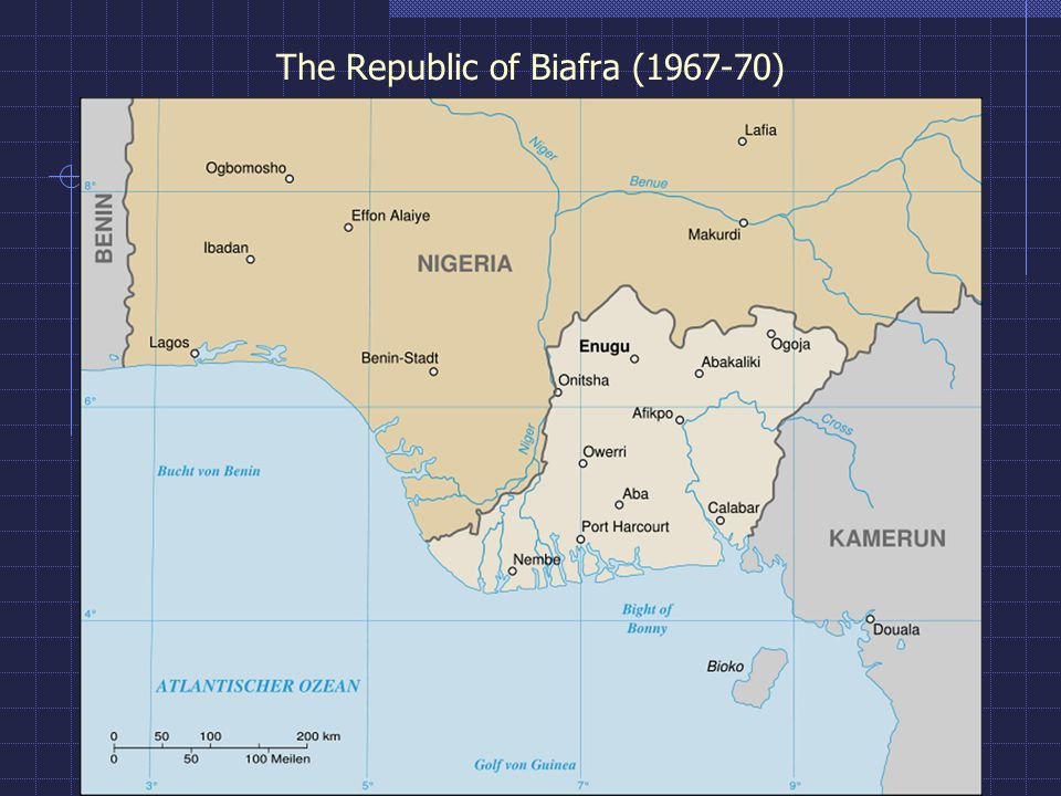 The Republic of Biafra (1967-70)