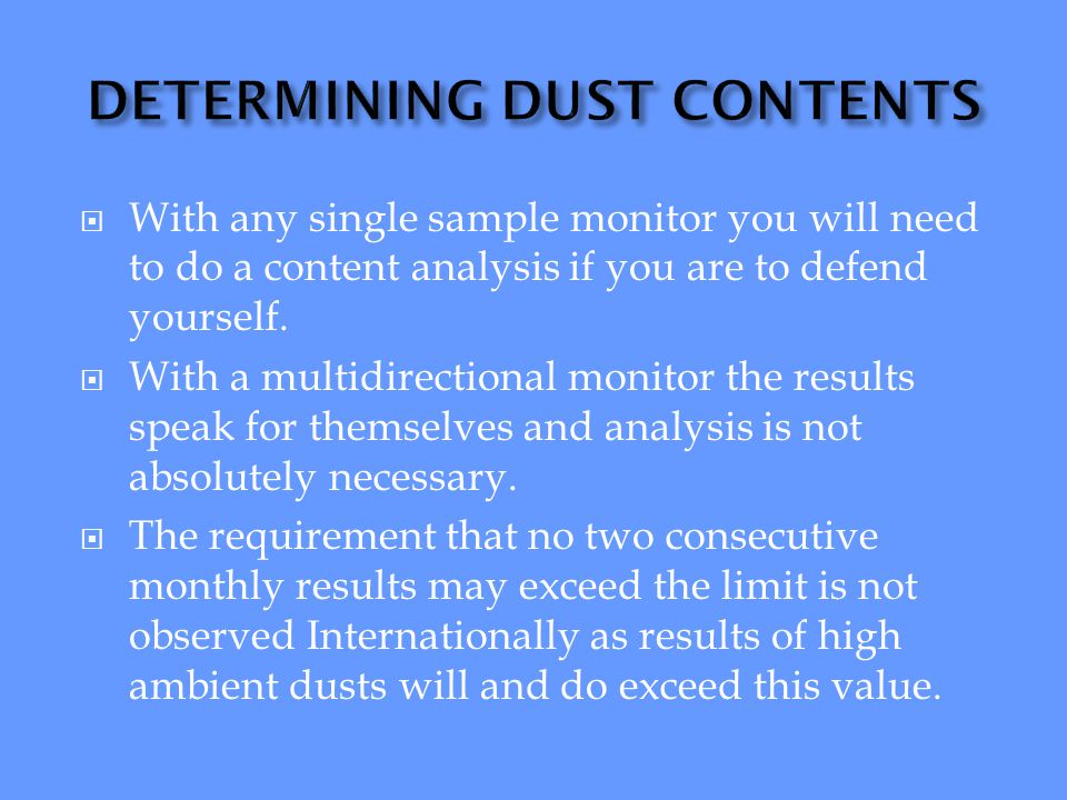 Mineralised copper material dust particles