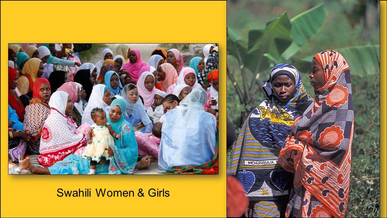 Swahili Women & Girls