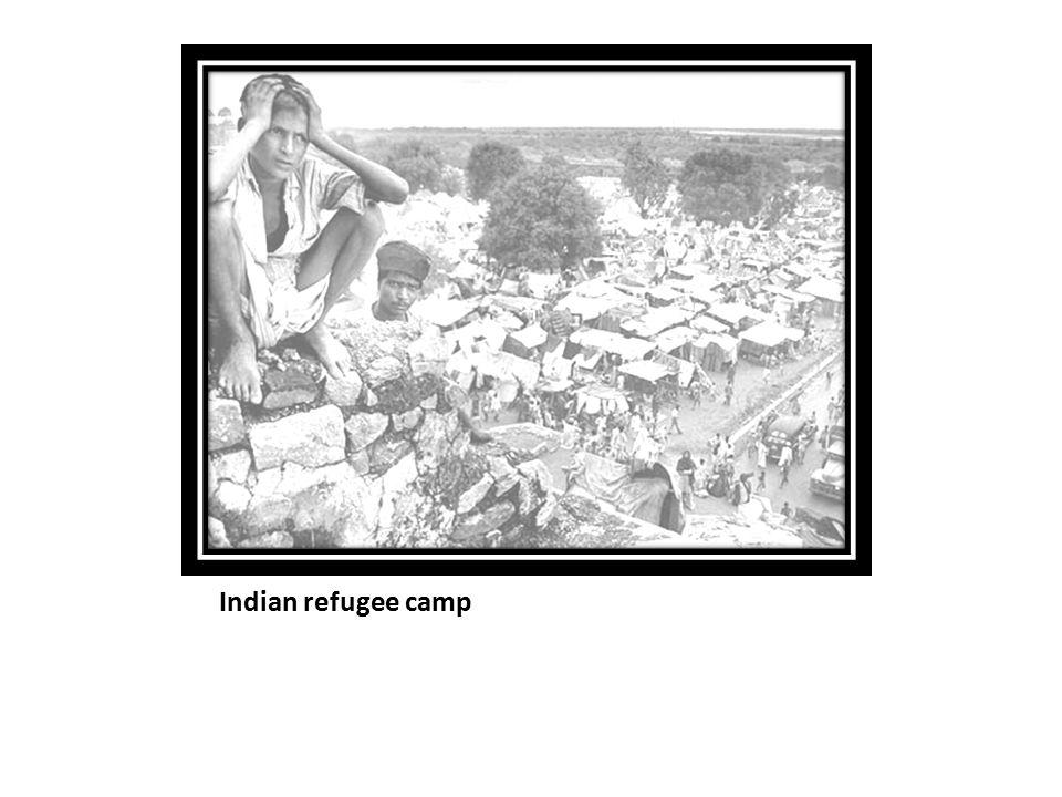 Indian refugee camp
