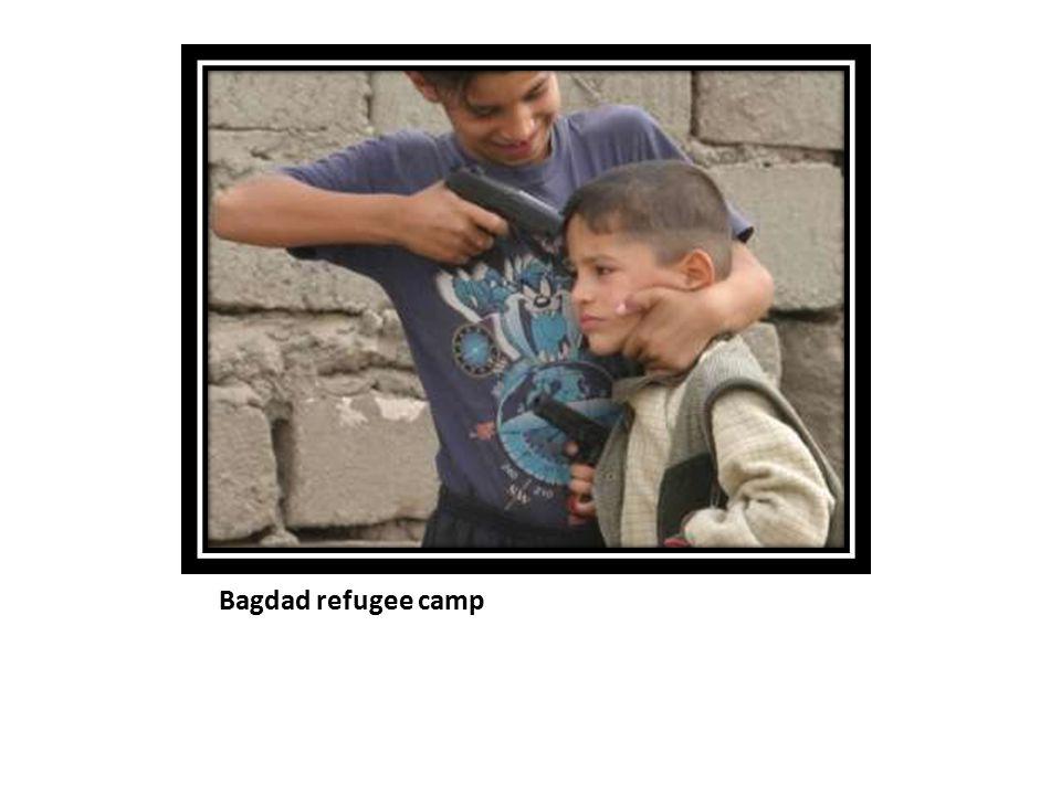 Bagdad refugee camp
