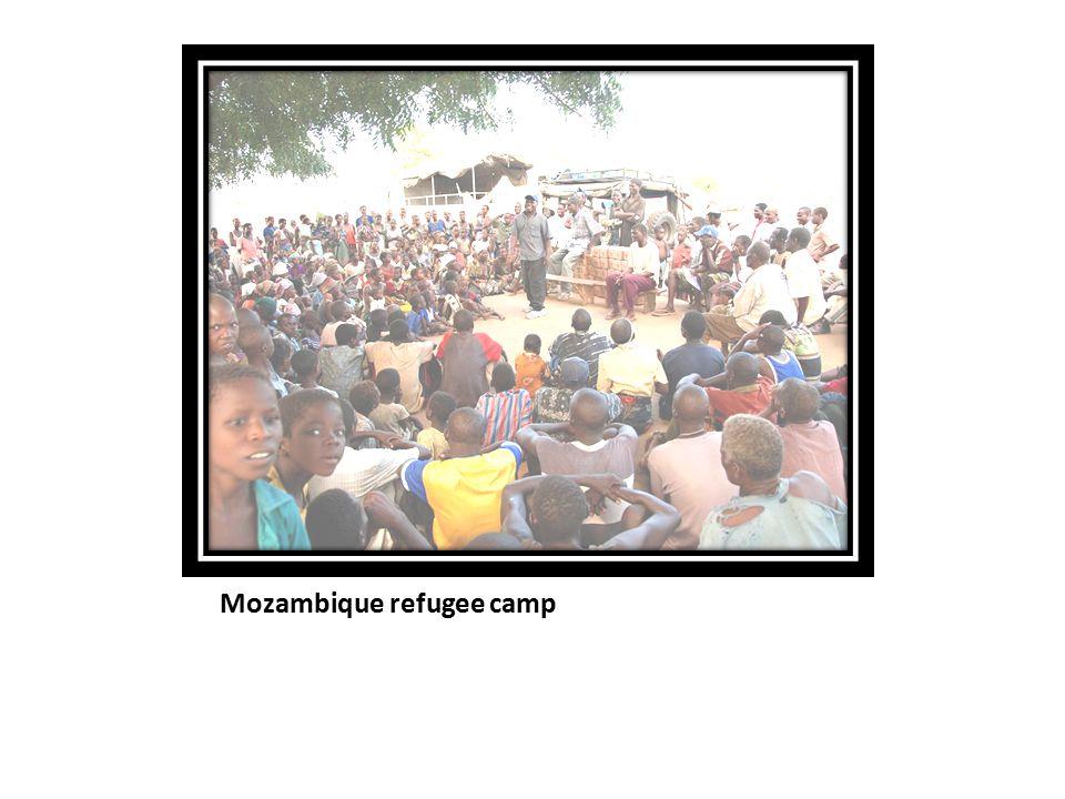 Mozambique refugee camp