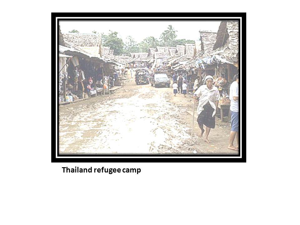 Thailand refugee camp
