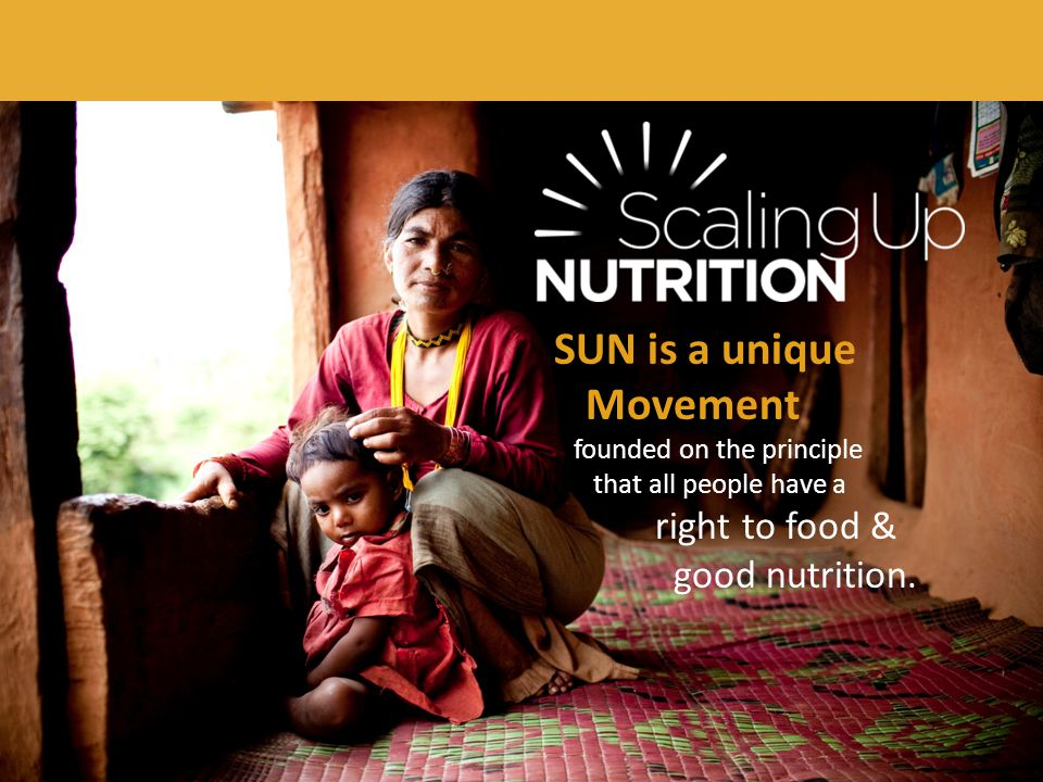 Over 165 million children under 5 are stunted as a result of malnutrition.