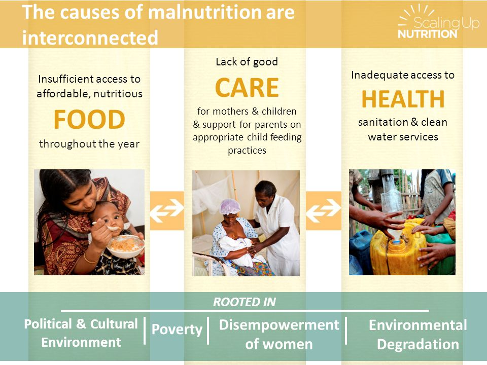 Making progress - examples Aligning Actions Across Sectors 3 3 NEPAL The Multi-Sectoral Nutrition Plan was endorsed by the Cabinet with a common results framework where all ministries have agreed on a set of essential nutrition-specific and nutrition- sensitive interventions.