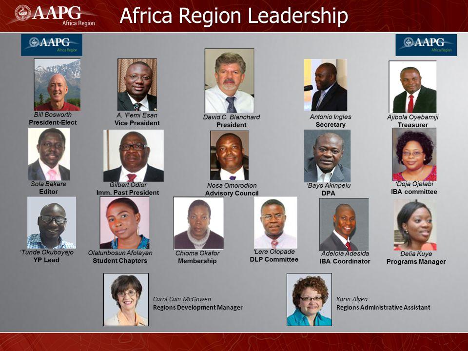 Organizational Chart David Blanchard Africa Region President Delia Kuye Programs Manager Delegates Ramadan Aburawi (Libya) Bill Bosworth (Egypt) Kaushalendra Trivedi (So.