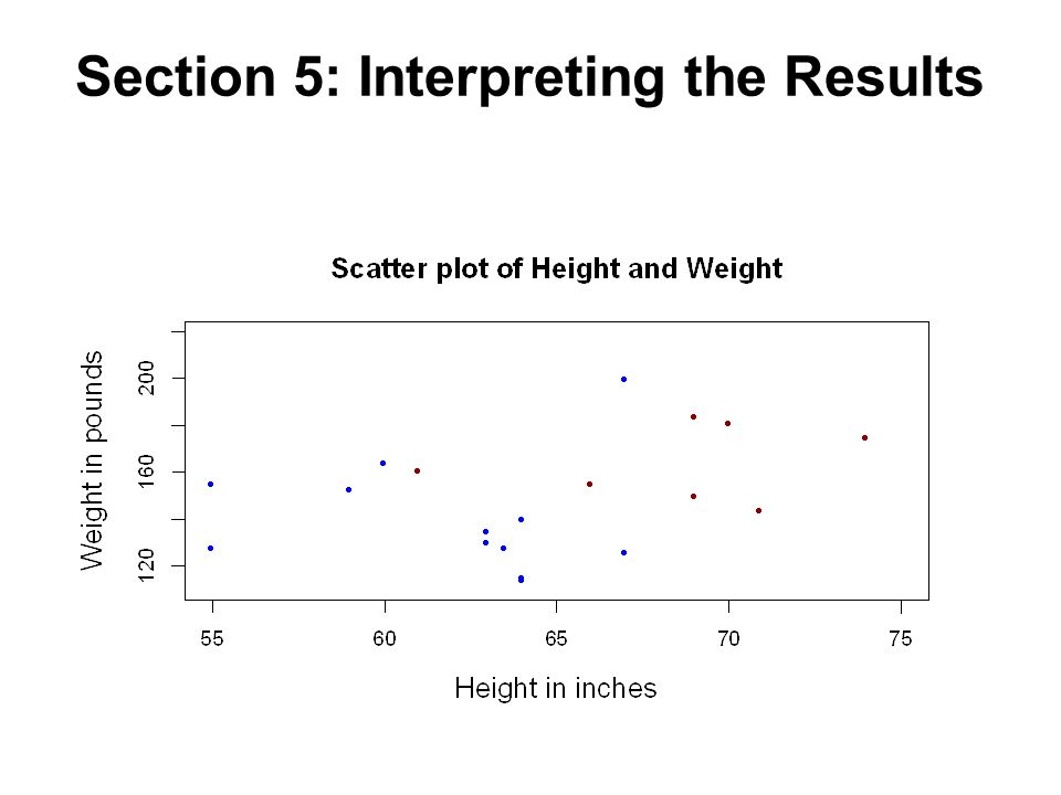 Section 5: Interpreting the Results
