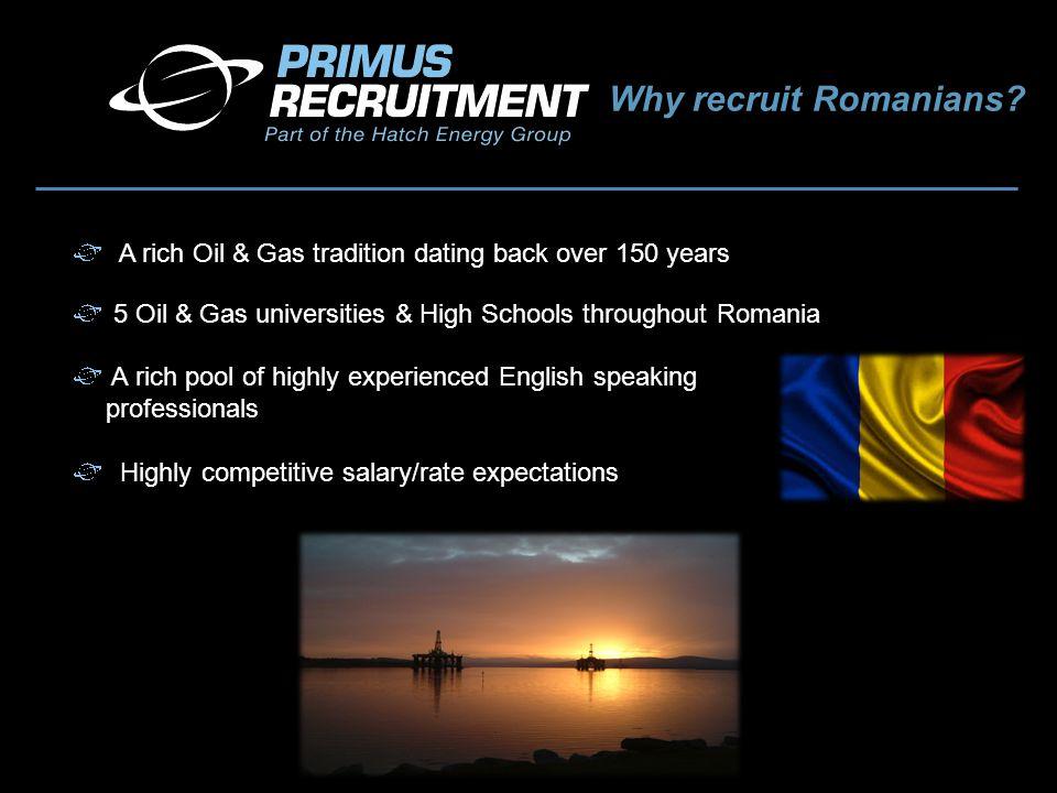 Why recruit Romanians.