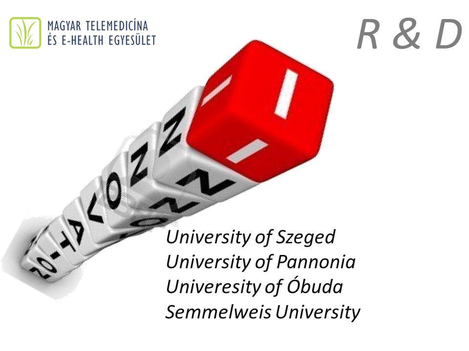 University of Szeged University of Pannonia Univeresity of Óbuda Semmelweis University R & D