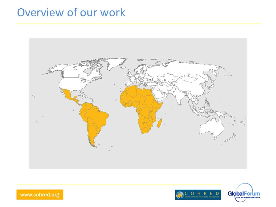 Overview of our work