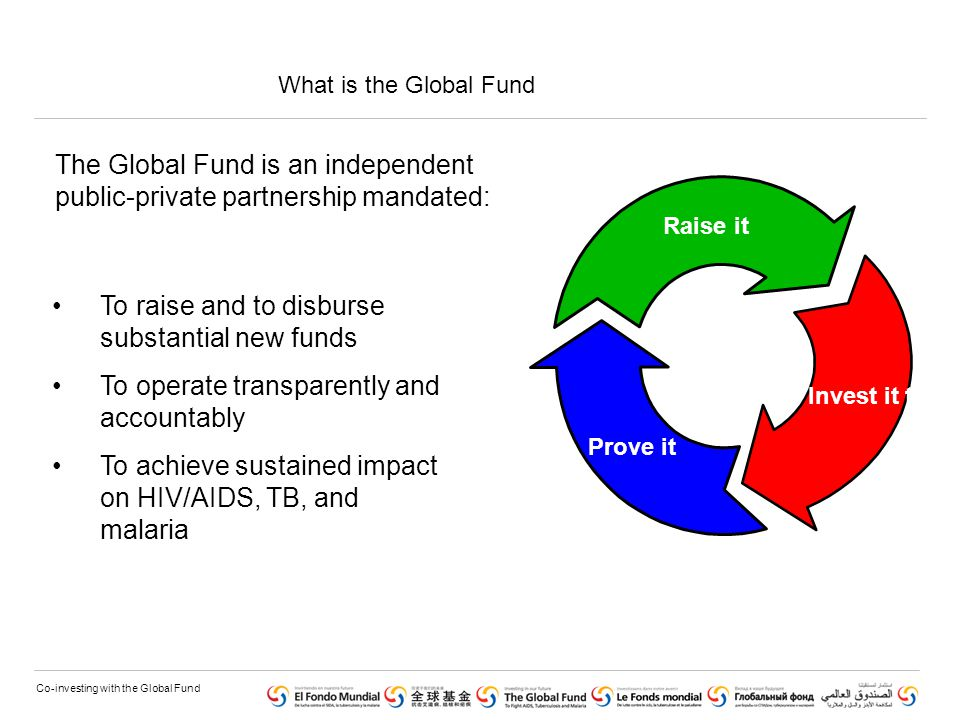 Co-investing with the Global Fund 4.