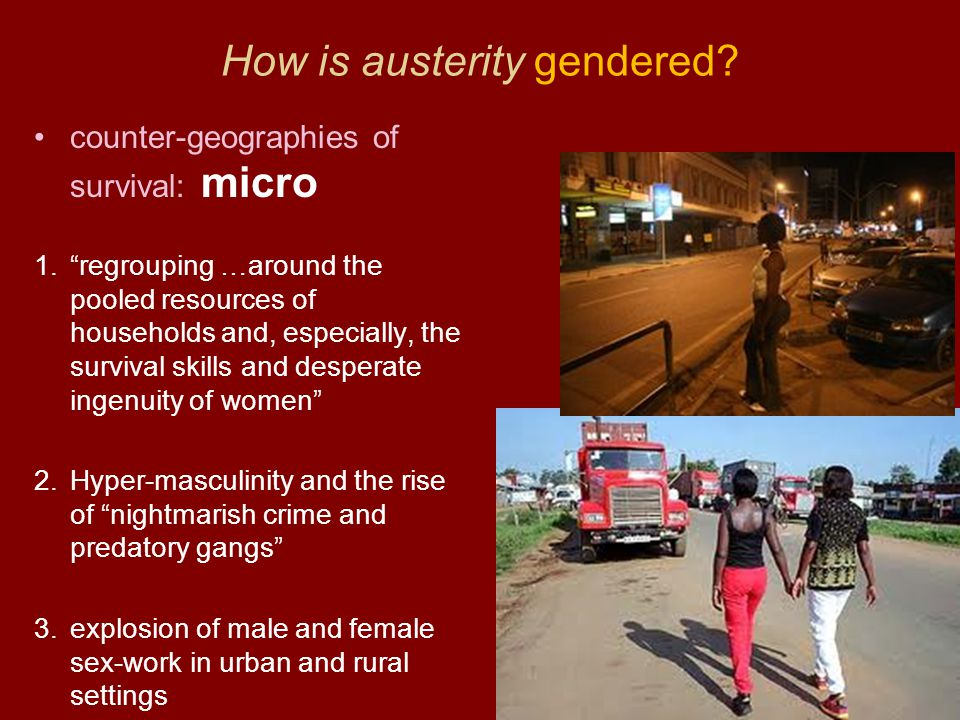 How is austerity gendered.