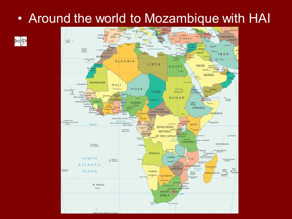 Around the world to Mozambique with HAI
