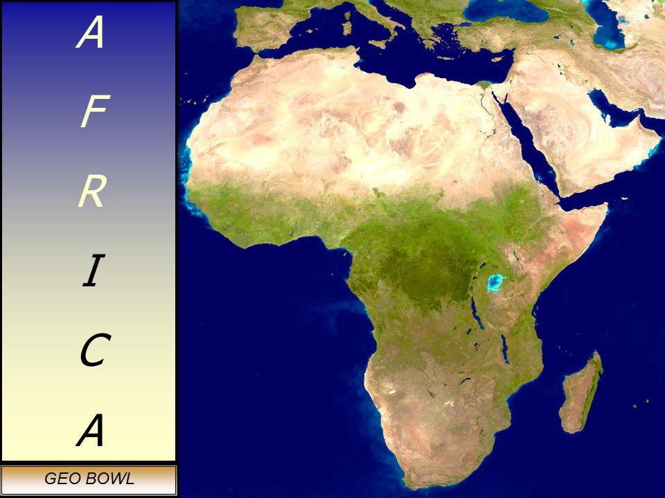 AFRICAAFRICA GEO BOWL