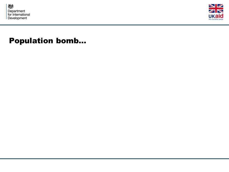 Population bomb…