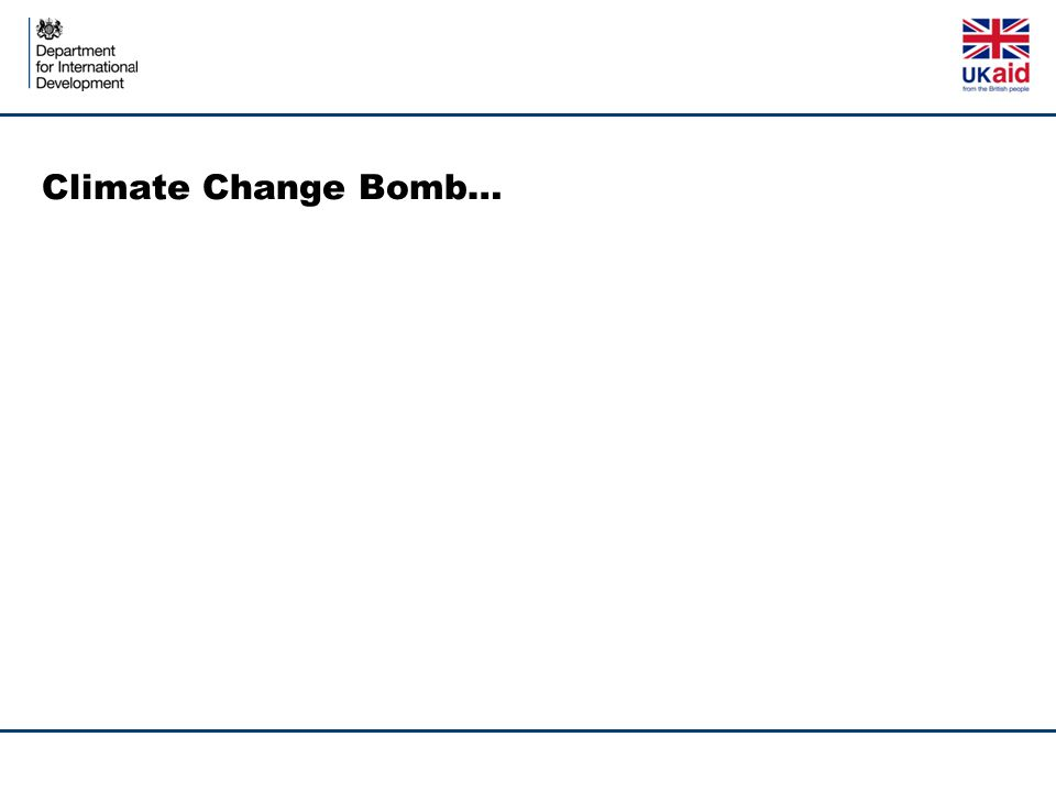 Climate Change Bomb…