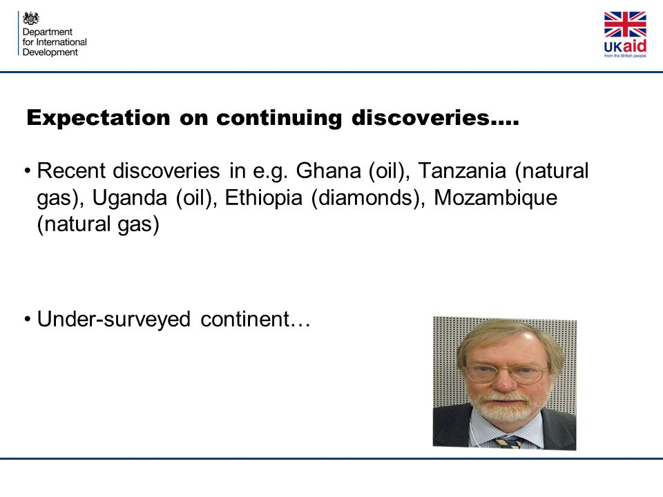 Expectation on continuing discoveries…. Recent discoveries in e.g.