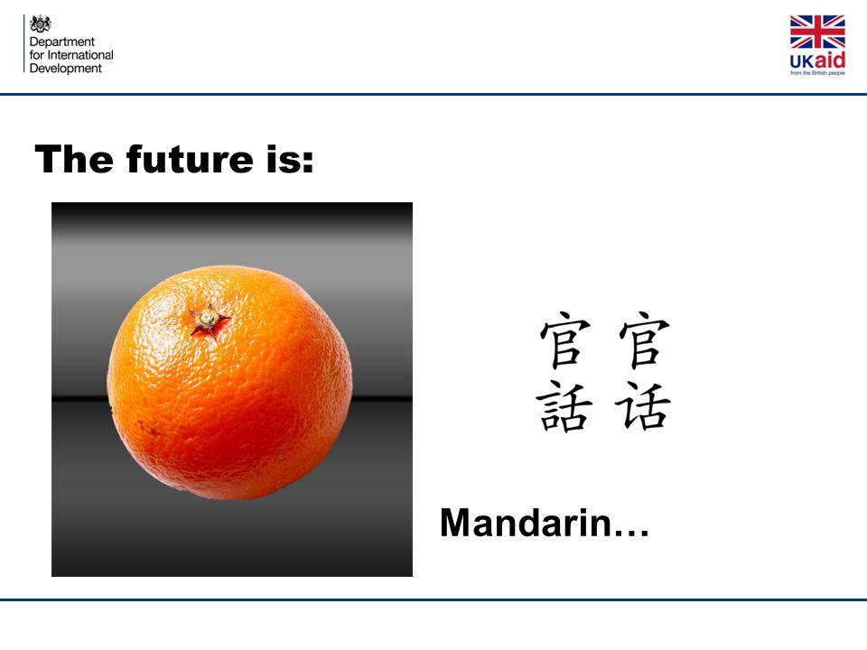 Mandarin…