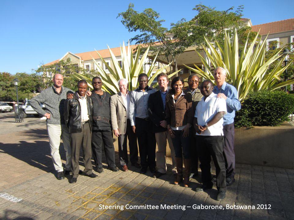 Steering Committee Meeting – Gaborone, Botswana 2012