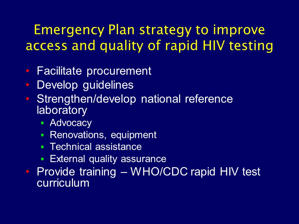 HIV testing is expanding rapidly (Number of HIV tests performed in CDC/GAP supported programs)