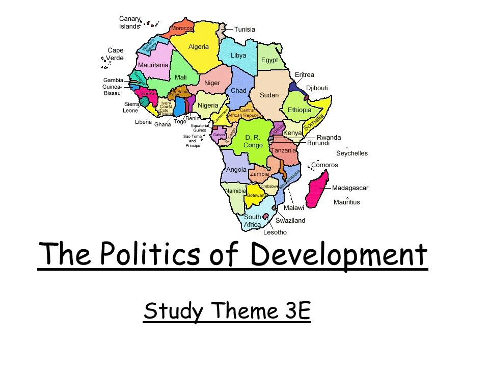 The Politics of Development Study Theme 3E