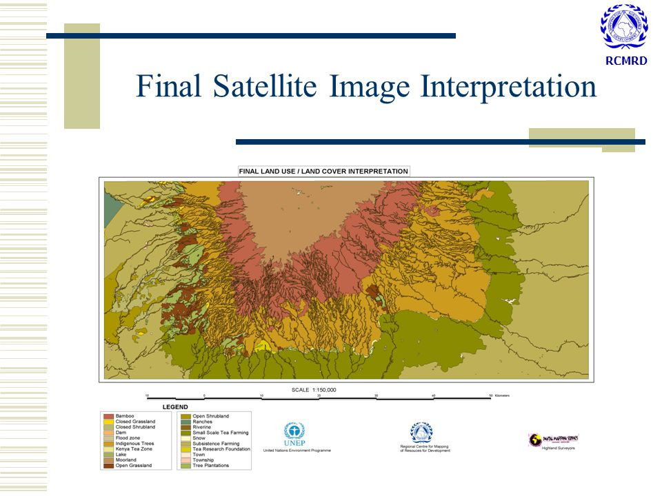 RCMRD Final Satellite Image Interpretation